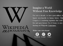 Wikipedia blackout image via wikipedia.org